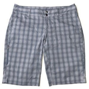 Columbia Omni Size 12 Saturday Trail Plaid Shorts